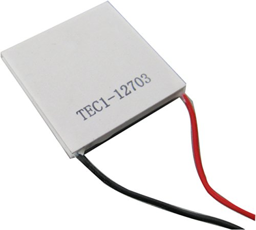 Yeeco High Power TEC Thermoelectric Cooler Generator Cooling Peltier Plate Module Thermostat Cooling Controller DC 12V 40mm40mm by Yeeco (Image #1)