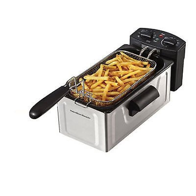 Electric Tabletop Deep Fryer Basket Restaurant