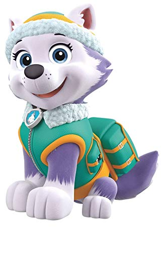 7 Inch Everest Paw Patrol Girl Pup Wall Decal Sticker Pups Puppy Puppies Dog Dogs Removable Peel