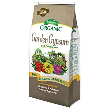 amazoncom espoma gg6 garden gypsum fertilizer 6 pound gypsum soil conditioner garden outdoor - Garden Gypsum