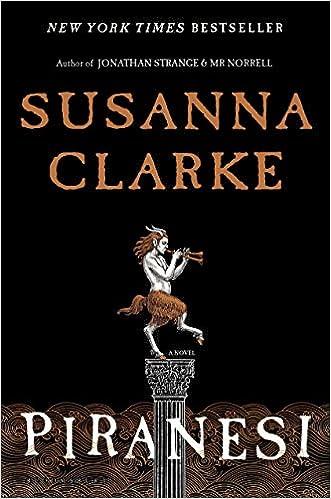 Cover of Piranesi by Susanna Clarke