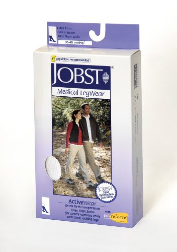 Jobst - ActiveWear - Firm Support Unisex Athletic Knee Highs NEW NEW - 30 40 ...