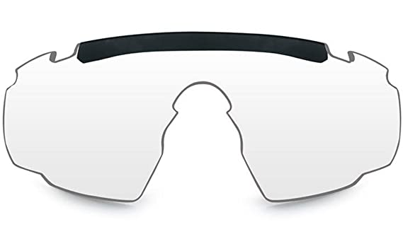 b385ae66c80 Wiley X WX SABER ADVANCED Authentic Replacement Lenses (Non-Polarized Clear  Lens)