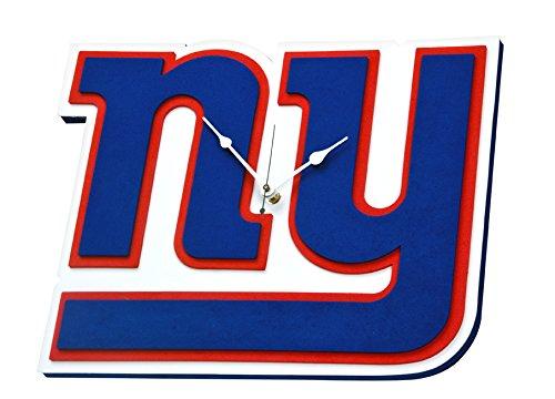 Foam Fanatics NFL New York Giants 3D Foam Wall (Giants Clock)