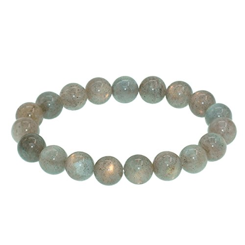 10mm-birthstone-round-bead-beaded-balance-bracelet-precious-gemstones-stretch-handmade-bangle-gray-m
