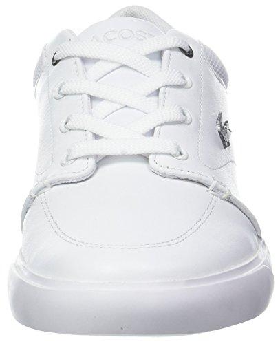 Lacoste Bayliss 318 2 Cam, Baskets Homme Blanc (Wht/Nvy 042)