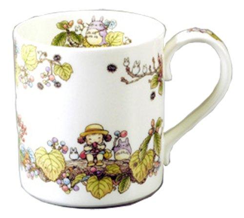 (Noritake × Studio Ghibli Totoro(viburnum) Mug Cup,)