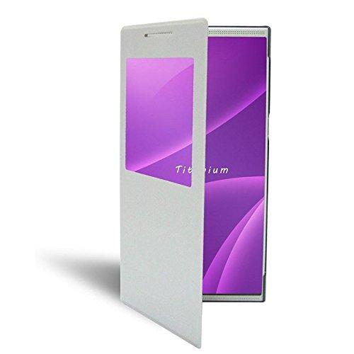 FUNDA INTELIGENTE LEOTEC PARA SMARTPHONE TITANIUM 5.5