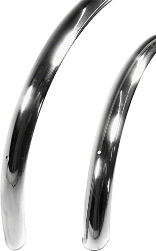 Velo Orange 700c Smooth Alloy Fender Set: Polished Silver~ 37mm by Velo Orange