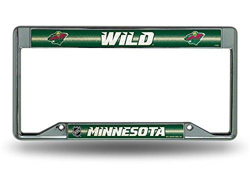 Rico NHL Minnesota Wild Inverted Bling License