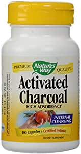 Nature's Way Activated Charcoal, 100 Capsules