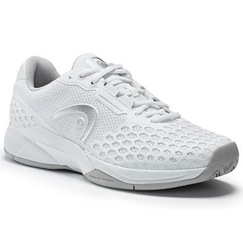 reputable site 15b31 91a06 HEAD Women s Revolt Pro 3.0 Tennis Shoe (7.5) White Grey