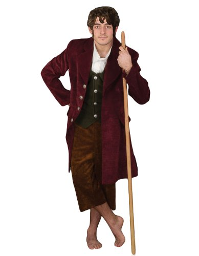 Deluxe Middle Earth Halfling Theater Costume, -