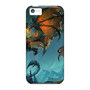 Excellent Iphone 5c Case Tpu Cover Back Skin Protector Dragon Storyteller
