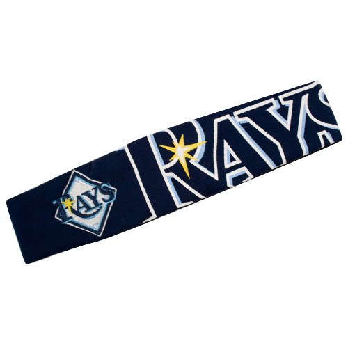 (MLB Tampa Bay Rays FanBand Headband)