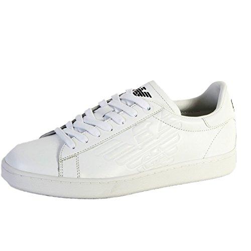 Sneakers Man Bianco EA7 Emporio Armani NEW CLASSIC (45 1 3)  Amazon ... e20c710e00f