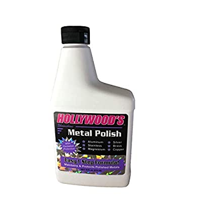 Hollywoods Detailing Products Ss004 16 Oz.Metal Polish: Automotive