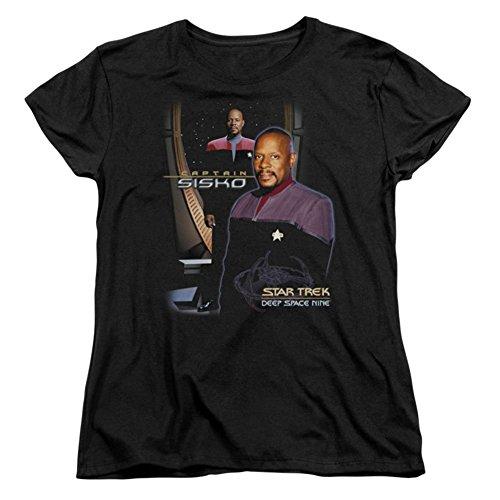 Trevco Para Camiseta Damas Mujer Wocaptain rwXBrqz