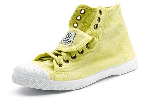 515 Per 107 Donna Sneakers Ecologico Natural Eco Colori Stars Tela Vegan Molti Ultimo Modello World All In Scarpe q1TxHS