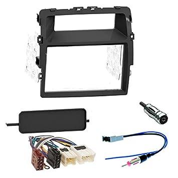 Kit de Montaje Marco para Radio Adaptador autoradio para Nissan PRIMASTAR Opel VIVARO Renault Trafic 2 DIN: Amazon.es: Electrónica