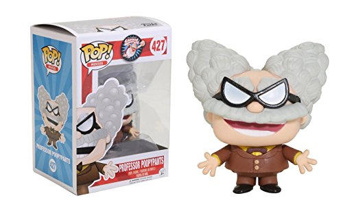 Funko POP Movies Captain Underpants Professor Poopypants Action Figure -