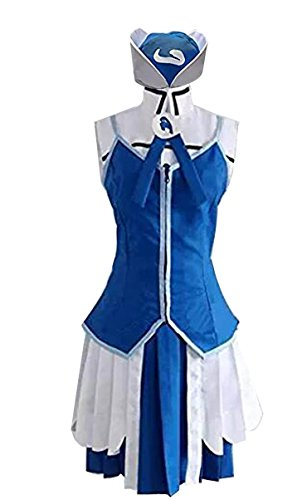 HOLRAN Fairy Tail Juvia Lockser Cosplay Costume Set Custom (Female:Medium) for $<!--$78.99-->