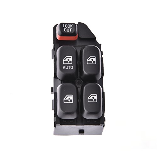 ACUMSTE Driver's Door Master Electric Power Window Master Lifter Control Switch For 1995-99 Chevy Cavalier Chevy Lumina,22652693, 88894539, 901-050