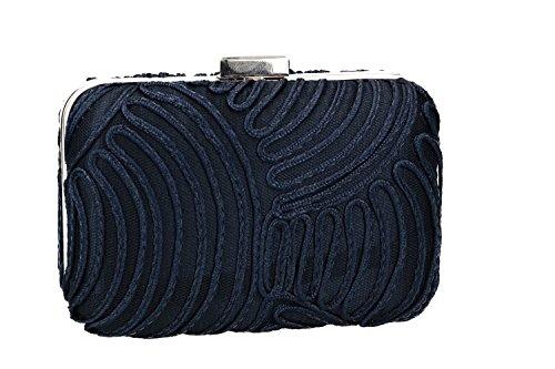 for pochette VENTURI VN2402 Purse metallic blue woman opening ceremonies GIANMARCO Xx7qpZw