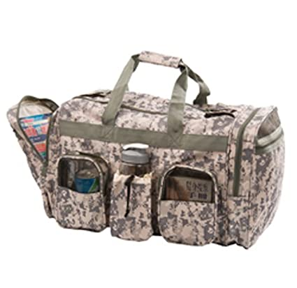 250f56af180f Image Unavailable. Image not available for. Color  Digital Camo Deluxe Duffle  Bag