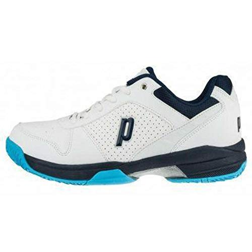 Prince Advantage Lite Mens Tennis Shoe (White/Navy) 9.5