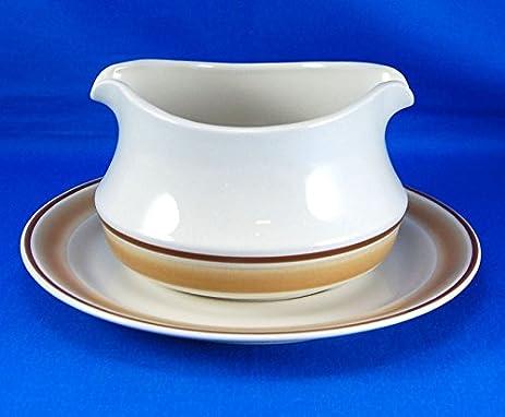 Amazon.com: Vintage Hearthside Stoneware Water Colors Horizon Gravy ...