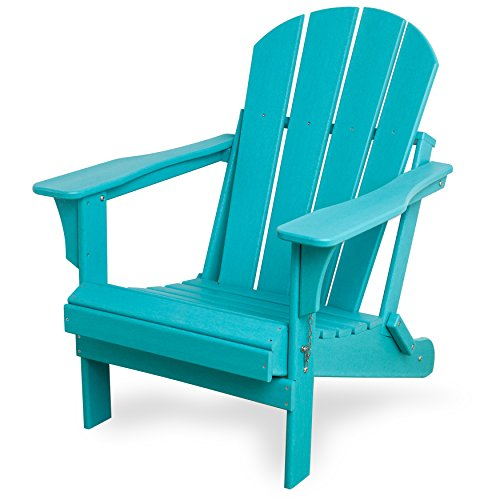 Westin Outdoor Laguna POLY Adirondack Chair (Turquoise Blue) By Westin  Outdoor