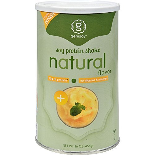 Genisoy Protein Shake Natural 16 Fz