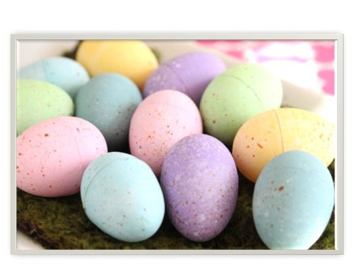 Easter Egg Shaped Sidewalk Chalk, 6 piece (Pack of (Shaped Chalk)