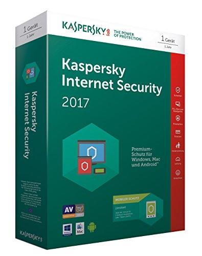 Kaspersky Internet Security 2017 + Kaspersky Internet Security für 1 Android Gerät - [Online Code]