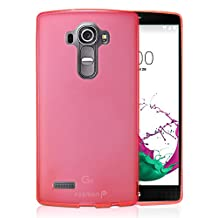 Fosmon® LG G4 Case (DURA-FRO) Slim-Fit Flexible TPU Gel Case Cover for LG G4 - Fosmon Retail Packaging (Hot Pink)