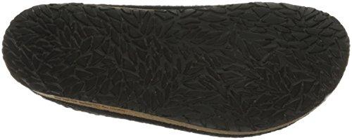 Black Clog Wool Felt Stegmann Stegmann Womens Cork Sole With Womens wqzXx4xS7