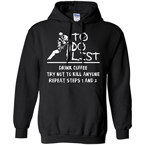 List To Costumes Do Adult (To Do List Shirt Women Coffee Halloween Costume For Adults, Black,)