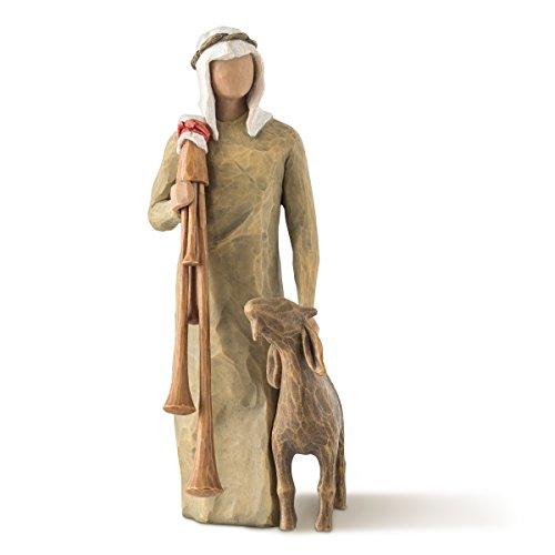 Willow Tree Zampognaro (Shepherd with Bagpipe) figure by Susan Lordi 27183