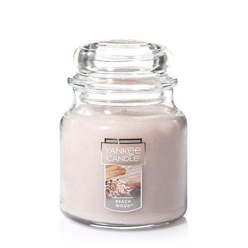 Medium Scented Jar (Yankee Candle Medium Jar Candle, Beach Wood)