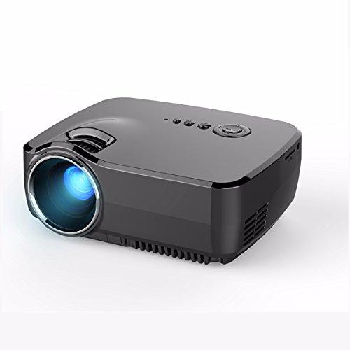 Mini projector elegiant hd movie portable projectors 1200 for Best portable projector for ipad