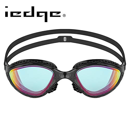 NOTE Iedge Swimming Goggles K945 Mirror Lenses Honeycomb-Structurouge Frame Seals Triathlon UV Prougeection for Adults  94510