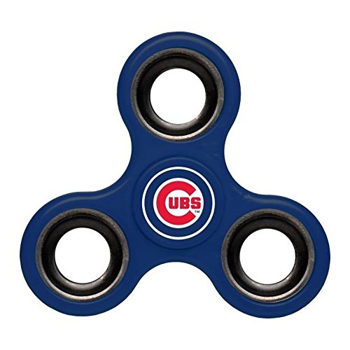 Mlb Diztracto Fidget Spinnerz   3 Way  Chicago Cubs  One Size