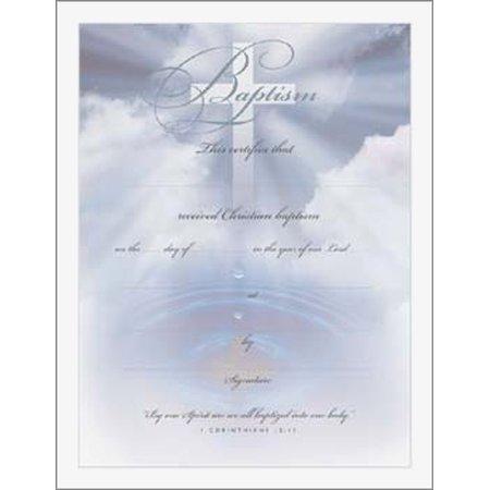 Baptism Certificate (Baptism Certificate)