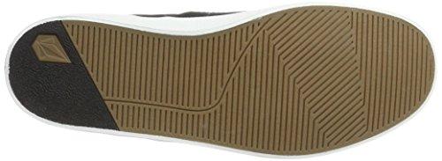 Mens Volcom Disegnano Lo Fashion Shoe Sneaker Nero