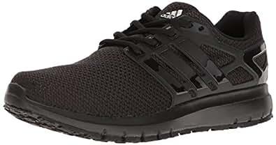 adidas Originals Men's Energy Cloud WTC m Running Shoe, Black/Black/White, 10 Medium US