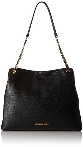 Michael Kors Womens Jet Set Chain Item Lg Chain Shoulder Bag 001 Black