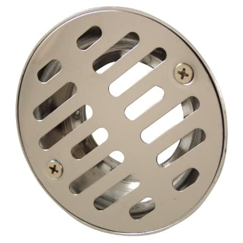 durable service Plumb Craft 7659150 2-Inch Shower Drain, Stainless Steel
