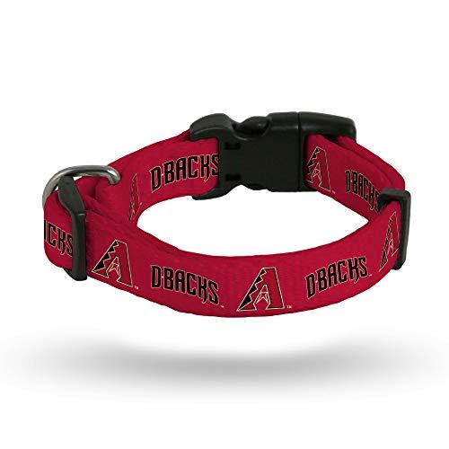 Rico Industries MLB Arizona Diamondbacks Pet CollarPet Collar Large, Team Colors, Large