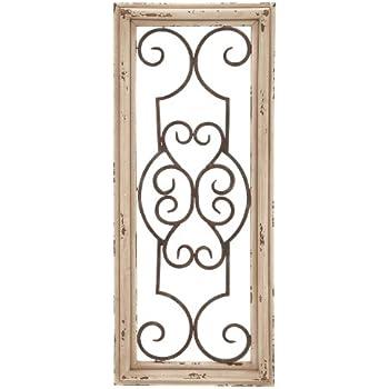 Deco 79 52732 Wood Metal Wall Panel, 25